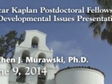 Kaplan Postdoctoral Fellowship Presentation