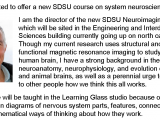 SCI 596: Systems Neuroscience Course