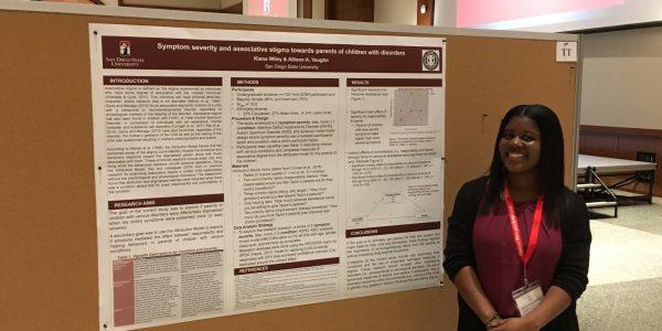 Congratulations to Former Undergraduate Student Kiana Wiley