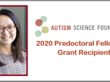 Bosi Chen Awarded Autism Science Foundation Predoctoral Fellowship